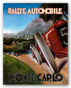 Monte Carlo Rallye by Chris Flanagan