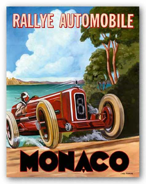 Monaco Rallye by Chris Flanagan