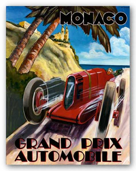 Monaco Grand Prix by Chris Flanagan