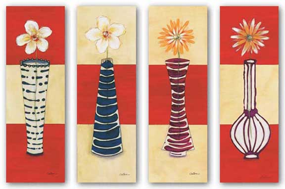 Contemporary Blossom Series Set by Susan Osborne