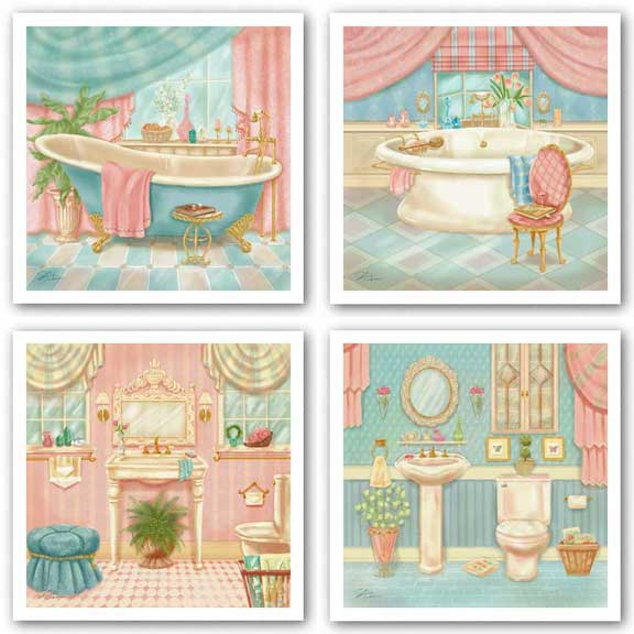 Powder Room Set by Shari Warren