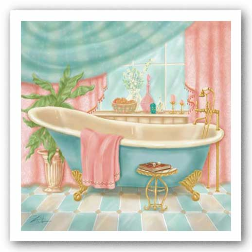 Powder Room I by Shari Warren