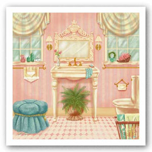 Powder Room III by Shari Warren