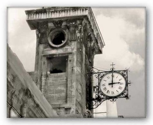 Clock Tower by Judy Mandolf