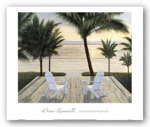Palm Beach Retreat by Diane Romanello