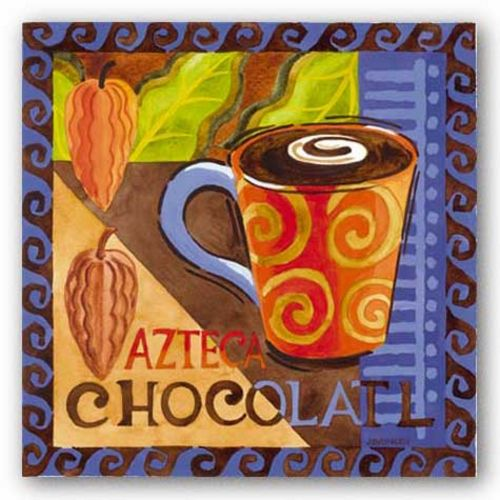 Azteca Chocolate by Jennifer Brinley