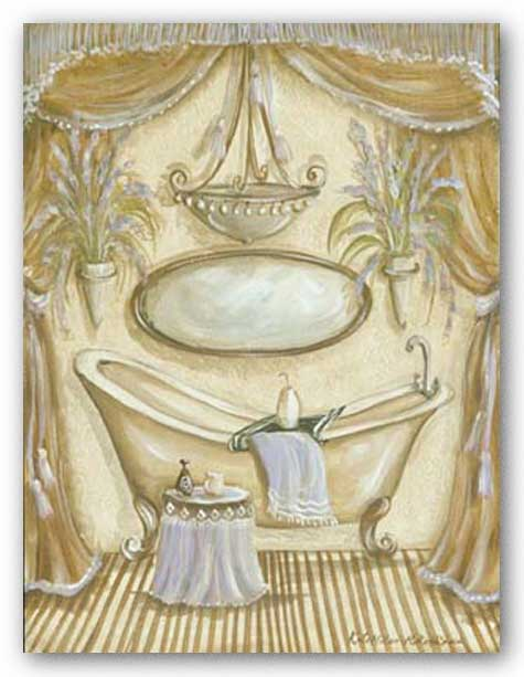 Charming Bathroom II by Kate McRostie