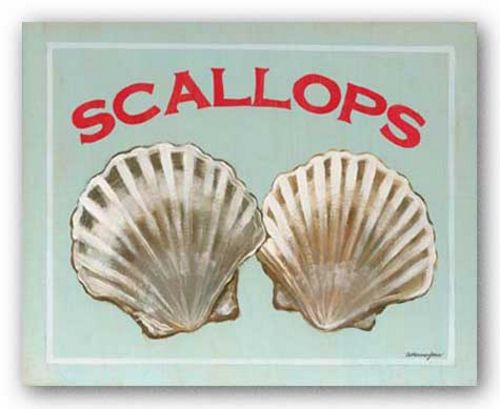 Scallops by Catherine Jones