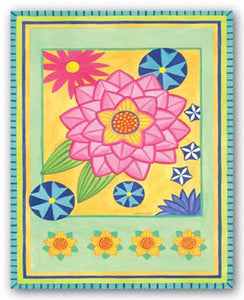 Mod Flower 4 by Jennifer Brinley