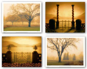 Whisper of Dawn - Memory of Trees - Two Columns - A Place to Dream Set by M. Ellen Cocose