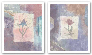 Fresco Tulips Set by Krista Sheldon