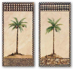 Tribal Palm Set by Rue de la Paix