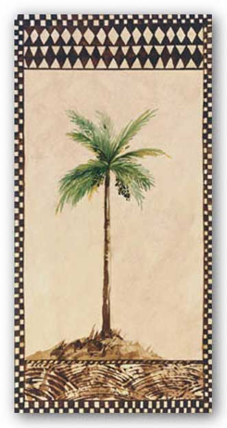 Tribal Palm ll by Rue de la Paix