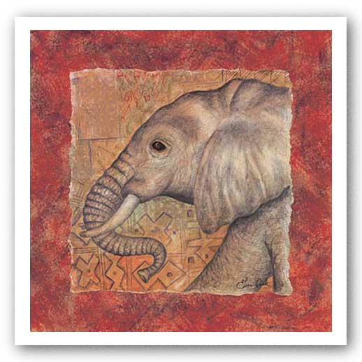 Elephant Safari by Terri Cook