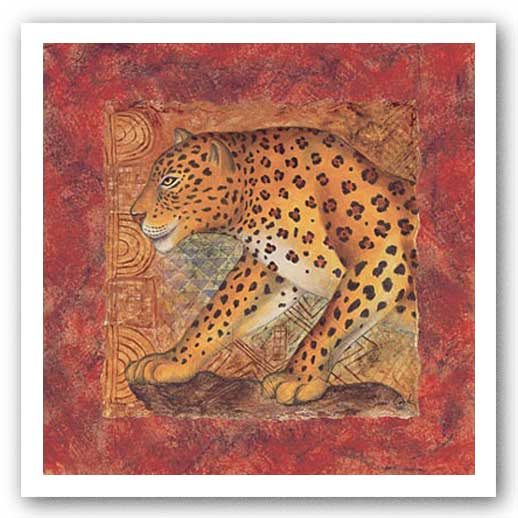 Leopard Safari by Terri Cook