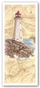 Peggy's Cove Light by Janet Kruskamp