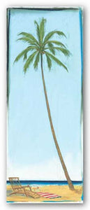 Seaside Coconut Tree by Paul Gibson