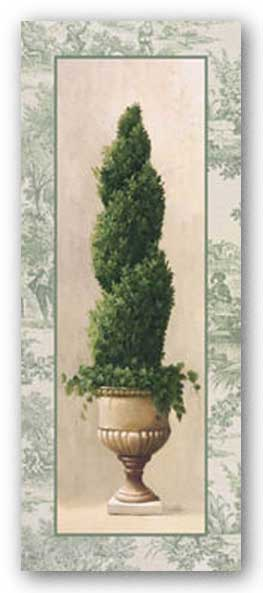 Topiary and Toile III by Welby