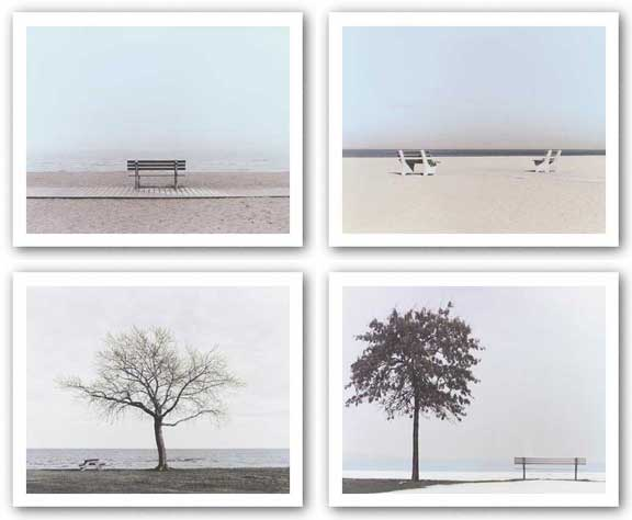 Bench Set by Maya Nagel