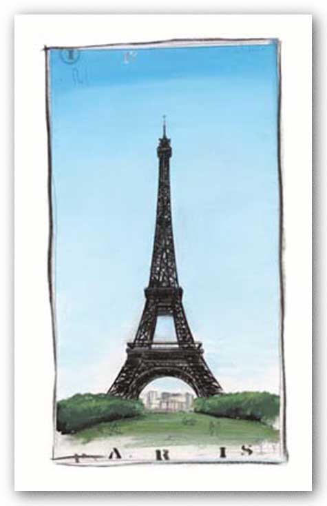 World Landmark Paris by Paul Gibson