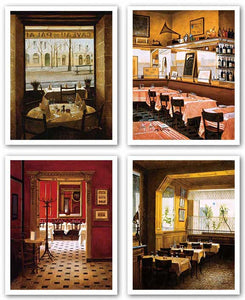 Restaurant Interiors Set by Andre Renoux