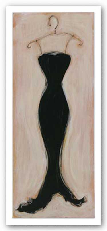 Black Evening Gown by Susan Osborne