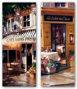 August Afternoon and La Petite Terrasse Set by George Botich