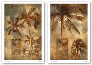 Retro Palms Set by Thea Schrack