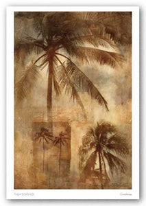 Retro Palms 2 by Thea Schrack