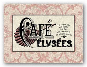 Cafe Elysees by Studio Voltaire