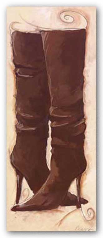 Sassy Brown Boot by Celeste Peters
