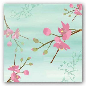 Zen Blossoms 1 by Kate Knight