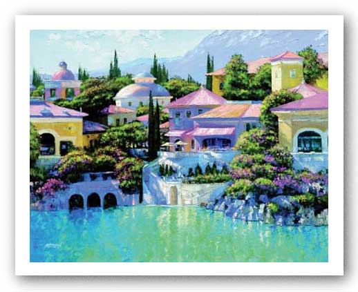 Lago Bellagio by Howard Behrens