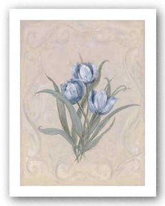 Tulips Azure by Peggy Abrams