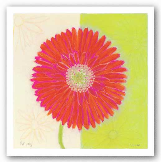 Red Daisy by Dona Turner