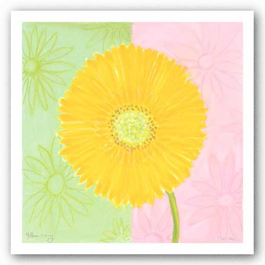 Yellow Daisy by Dona Turner