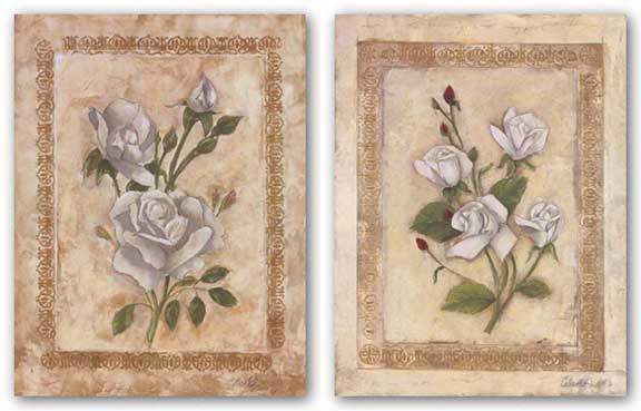 Rosas Blancas Set by Celeste Peters