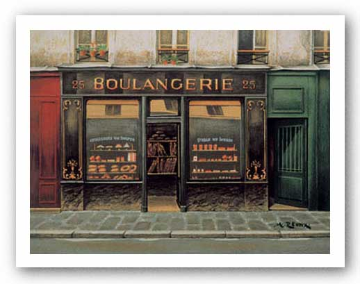 Boulangerie by Andre Renoux