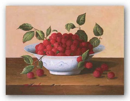 Still Life With Raspberries by Bianchi