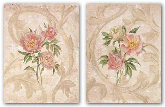 Peony Set by Lisa Canney Chesaux