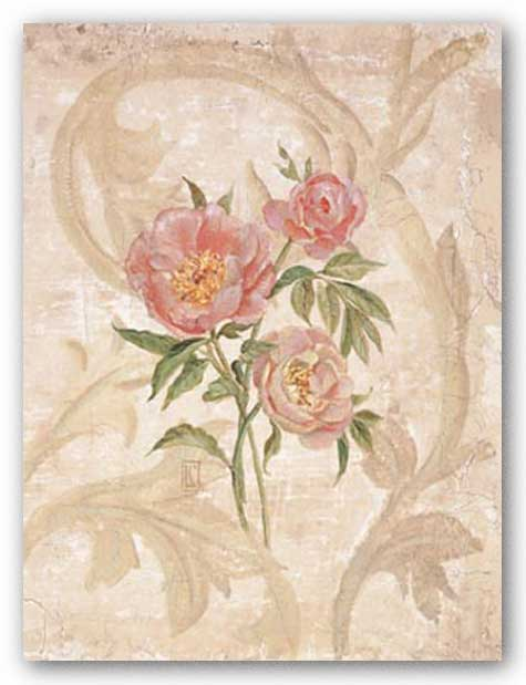 Peony I by Lisa Canney Chesaux