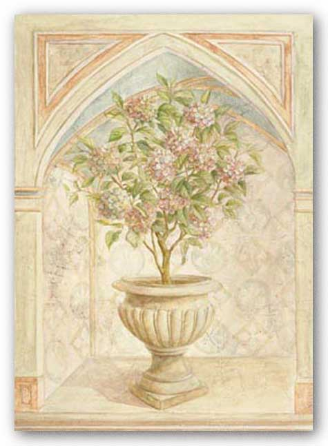 Hydrangea Niche by Lisa Canney Chesaux