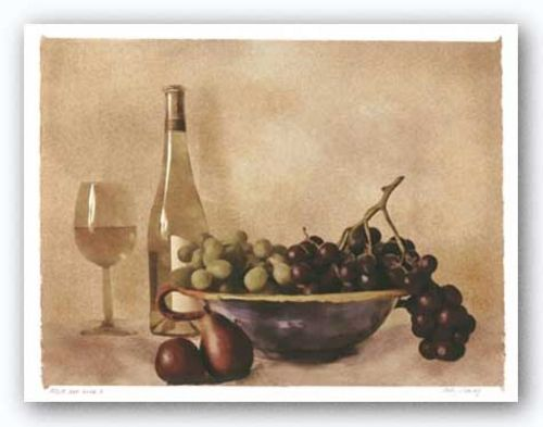 Fruit and Wine I by Judy Mandolf