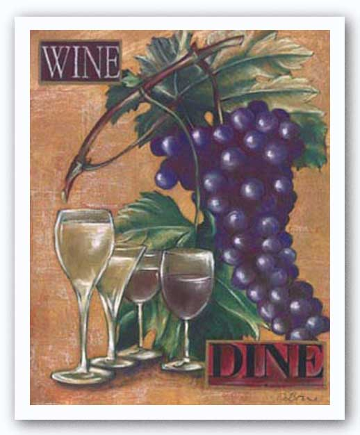 Wine and Dine I by Susan Osborne