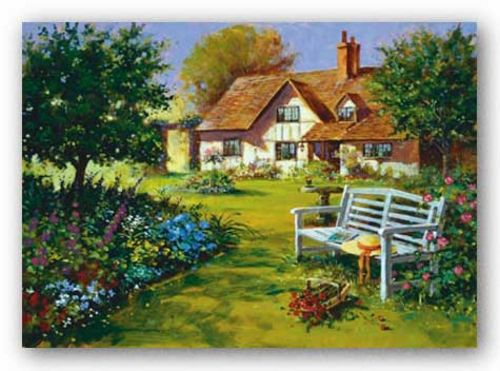 Garden Scene by Richard Telford