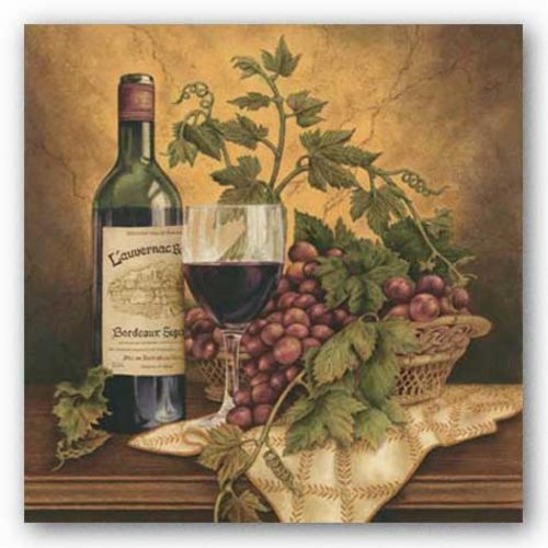 Vin de France I by Anna Browne