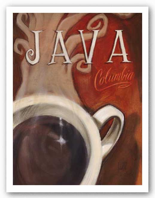 Java Columbia by Darrin Hoover