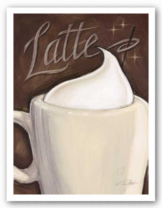 Latte by Darrin Hoover