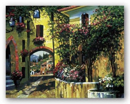 Village Balconies by Howard Behrens