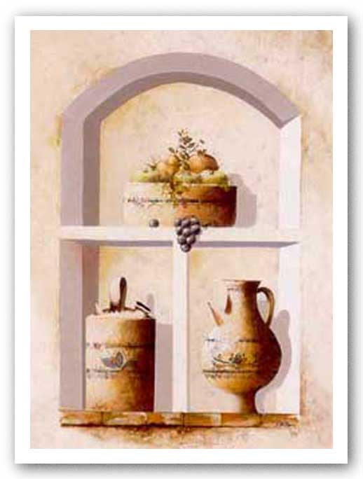 Alcove Heirlooms I by Coral